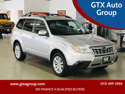 2011 Subaru Forester for sale at GTX Auto Group in West Chester OH