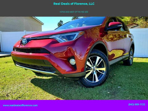 2018 Toyota RAV4 for sale at Real Deals of Florence, LLC in Effingham SC