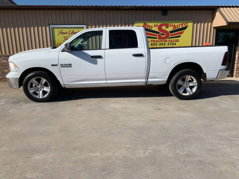 2013 RAM Ram Pickup 1500 for sale at BIG 'S' AUTO & TRACTOR SALES in Blanchard OK