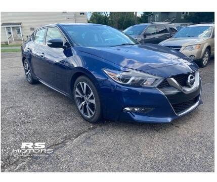 2017 Nissan Maxima for sale at RS Motors in Falconer NY