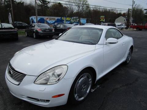 2008 Lexus SC 430 for sale at Route 12 Auto Sales in Leominster MA