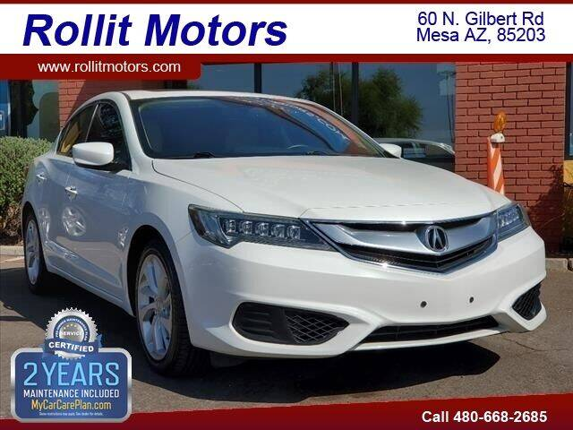 2016 Acura ILX for sale at Rollit Motors in Mesa AZ