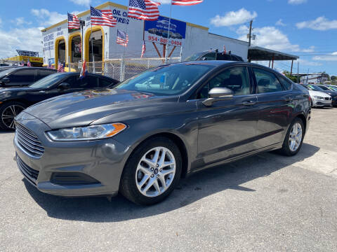 2016 Ford Fusion for sale at INTERNATIONAL AUTO BROKERS INC in Hollywood FL