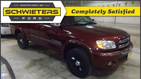 2006 Toyota Tundra for sale at Schwieters Ford of Montevideo in Montevideo MN