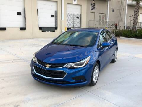 2016 Chevrolet Cruze for sale at EUROPEAN AUTO ALLIANCE LLC in Coral Springs FL