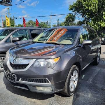 2010 Acura MDX for sale at America Auto Wholesale Inc in Miami FL