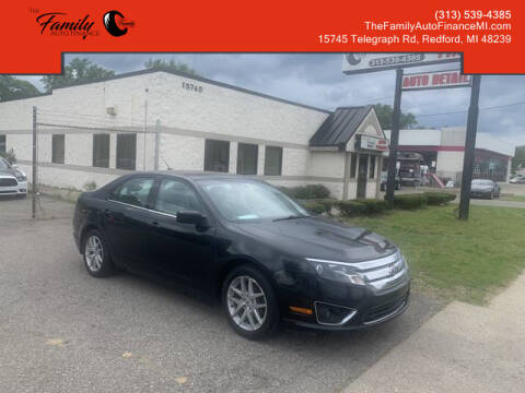 2012 Ford Fusion for sale at The Family Auto Finance in Redford MI