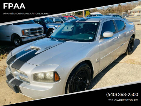 2006 Dodge Charger for sale at FPAA in Fredericksburg VA