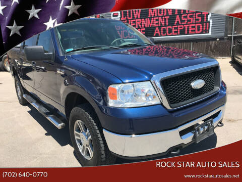 2008 Ford F-150 for sale at Rock Star Auto Sales in Las Vegas NV