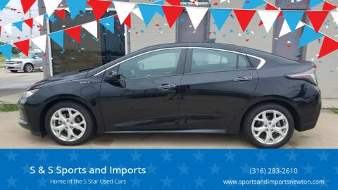 2017 Chevrolet Volt for sale at S & S Sports and Imports in Newton KS