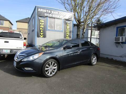 2012 Hyundai Sonata for sale at ARISTA CAR COMPANY LLC in Portland OR