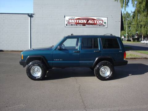 1998 Jeep Cherokee for sale at Motion Autos in Longview WA
