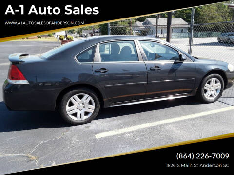 2013 Chevrolet Impala for sale at A-1 Auto Sales in Anderson SC