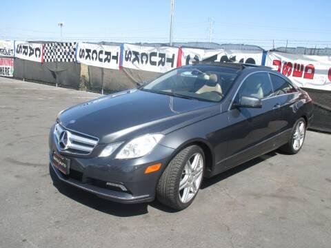 2010 Mercedes-Benz E-Class for sale at Quick Auto Sales in Modesto CA