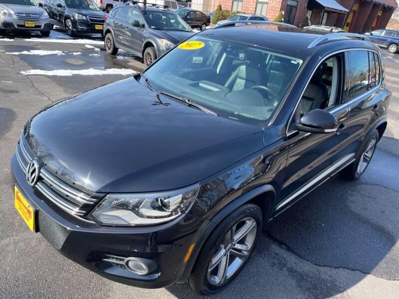 2017 Volkswagen Tiguan for sale at KINGSTON AUTO SALES in Wakefield RI