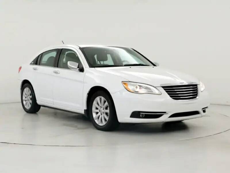 2014 Chrysler 200 for sale at ENZO AUTO in Parma OH