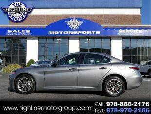 2018 Alfa Romeo Giulia for sale at Highline Group Motorsports in Lowell MA
