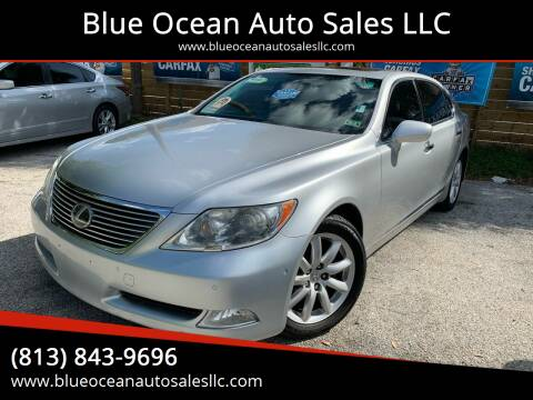 2007 Lexus LS 460 for sale at Blue Ocean Auto Sales LLC in Tampa FL