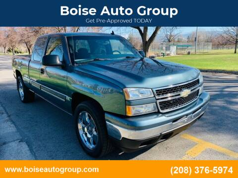 2007 Chevrolet Silverado 1500 Classic for sale at Boise Auto Group in Boise ID