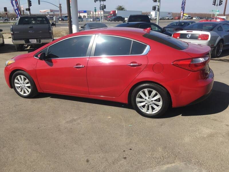2014 Kia Forte for sale at CONTINENTAL AUTO EXCHANGE in Lemoore CA