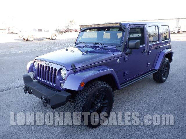 2017 Jeep Wrangler Unlimited for sale at London Auto Sales LLC in London KY