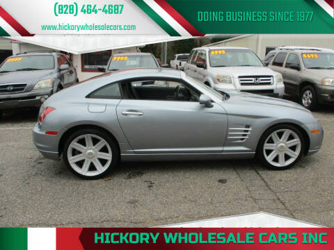 2004 Chrysler Crossfire for sale at Hickory Wholesale Cars Inc in Newton NC