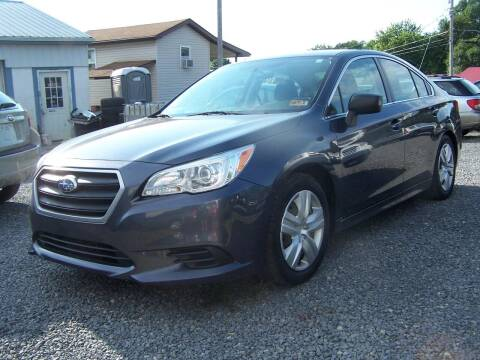 2015 Subaru Legacy for sale at B & J Auto Sales in Tunnelton WV