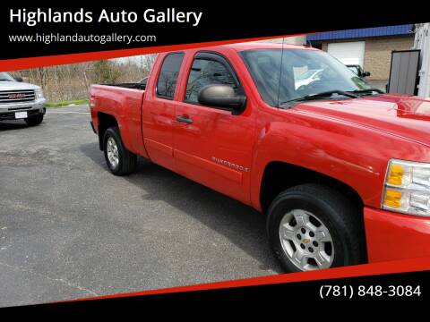 2007 Chevrolet Silverado 1500 for sale at Highlands Auto Gallery in Braintree MA