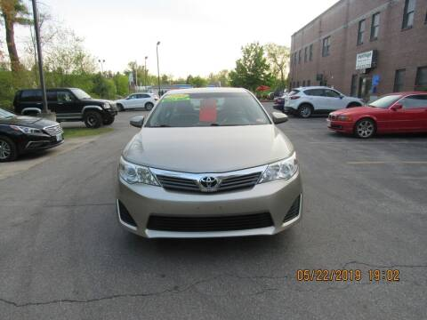 2013 Toyota Camry for sale at Heritage Truck and Auto Inc. in Londonderry NH