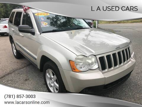 2009 Jeep Grand Cherokee for sale at L A Used Cars in Abington MA