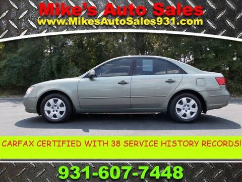 2010 Hyundai Sonata for sale at Mike's Auto Sales in Shelbyville TN