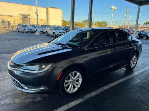 2015 Chrysler 200 for sale at PRICE TIME AUTO SALES in Sacramento CA