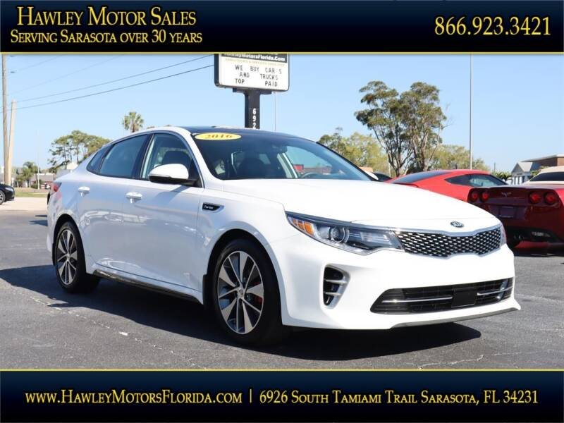 2016 Kia Optima for sale at Hawley Motor Sales in Sarasota FL