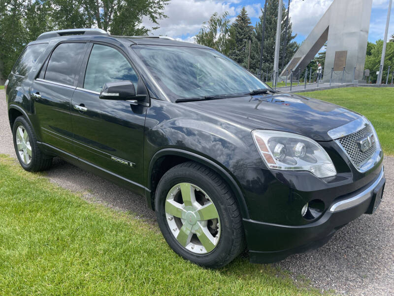 2008 GMC Acadia for sale at BELOW BOOK AUTO SALES in Idaho Falls ID
