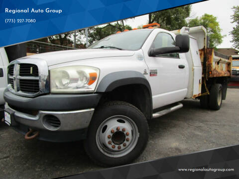 2009 Dodge Ram Chassis 5500 for sale at Regional Auto Group in Chicago IL