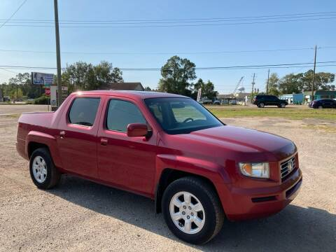 2006 Honda Ridgeline for sale at Autofinders in Gulfport MS