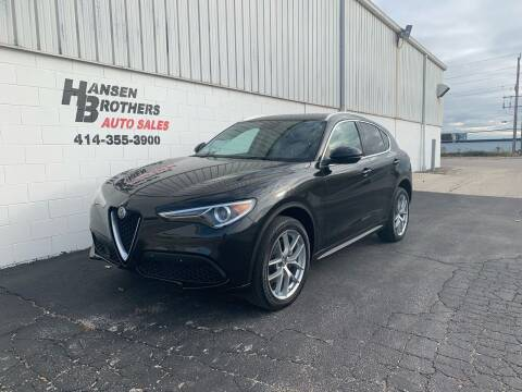 2018 Alfa Romeo Stelvio for sale at HANSEN BROTHERS AUTO SALES in Milwaukee WI