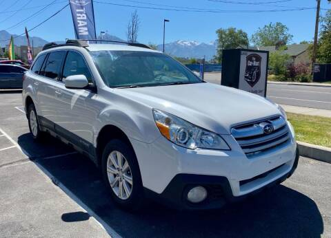 2013 Subaru Outback for sale at The Car-Mart in Murray UT