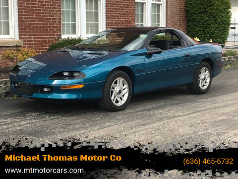 1994 Chevrolet Camaro for sale at Michael Thomas Motor Co in Saint Charles MO