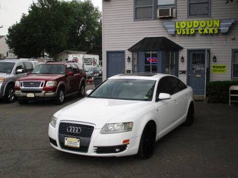 2007 Audi A6 for sale at Loudoun Used Cars in Leesburg VA