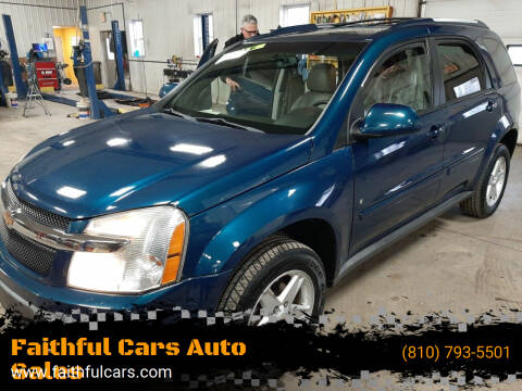 2006 Chevrolet Equinox for sale at Faithful Cars Auto Sales in North Branch MI