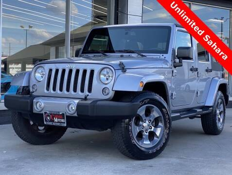 2016 Jeep Wrangler Unlimited for sale at Carmel Motors in Indianapolis IN