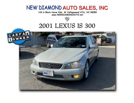 2001 Lexus IS 300 for sale at New Diamond Auto Sales, INC in West Collingswood NJ