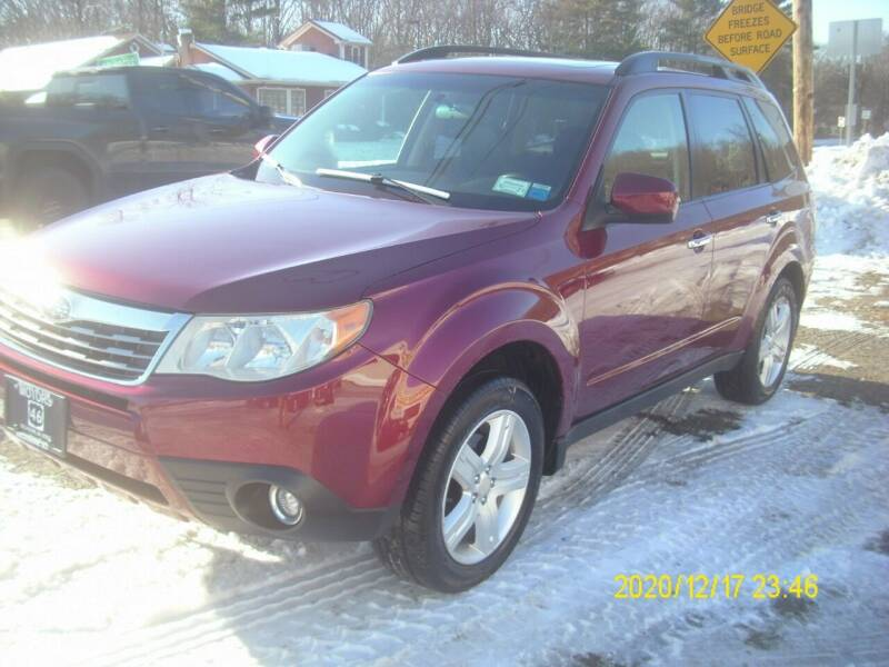 2009 Subaru Forester for sale at Motors 46 in Belvidere NJ