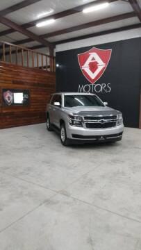 2017 Chevrolet Tahoe for sale at A & V MOTORS in Hidalgo TX
