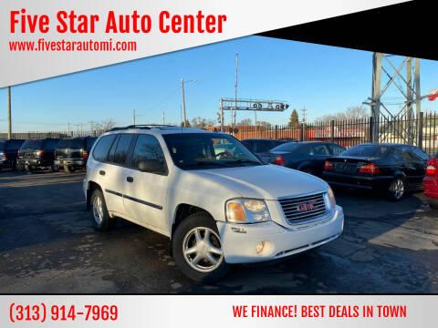 2009 GMC Envoy for sale at Five Star Auto Center in Detroit MI
