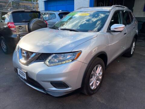 2016 Nissan Rogue for sale at DEALS ON WHEELS in Newark NJ