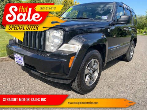 2008 Jeep Liberty for sale at STRAIGHT MOTOR SALES INC in Paterson NJ