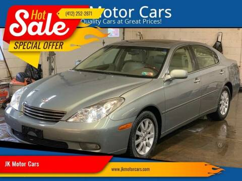 2004 Lexus ES 330 for sale at JK Motor Cars in Pittsburgh PA