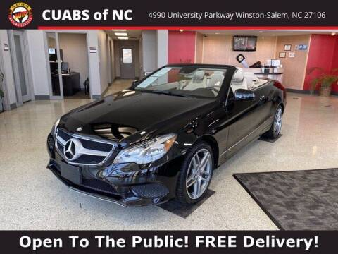2014 Mercedes-Benz E-Class for sale at Credit Union Auto Buying Service in Winston Salem NC